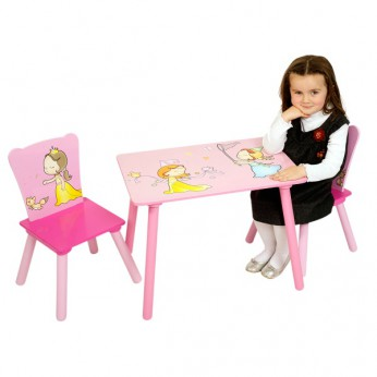Wooden Princess Table and Chair Set reviews