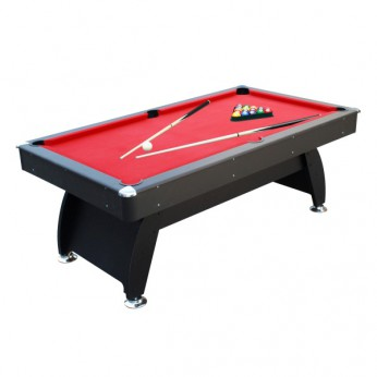 6ft Black and Red Pool Table reviews