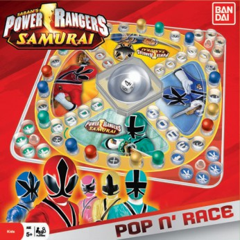Power Rangers Samurai Pop N Race Game reviews