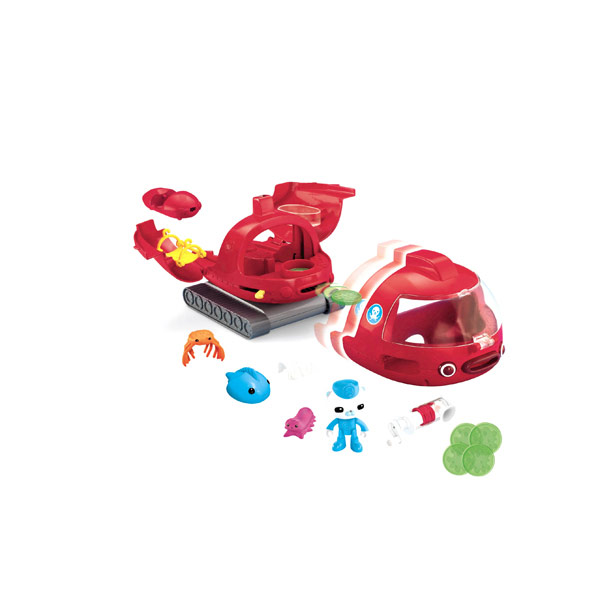 Octonauts Gup X Launch And Rescue Vehicle Reviews Toylike