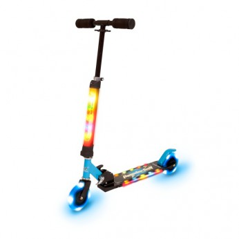 Light Up Blue Scooter