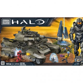 Mega Bloks Halo UNSC Rhino reviews