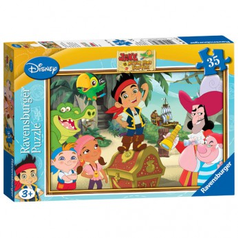 Jake and the Never Land Pirates 35pc Puzzle