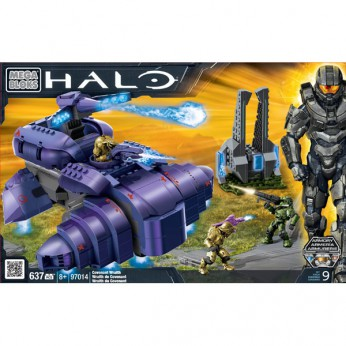 Mega Bloks Halo Covenant Wraith reviews
