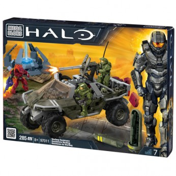 Mega Bloks Halo Warthog Resistance reviews