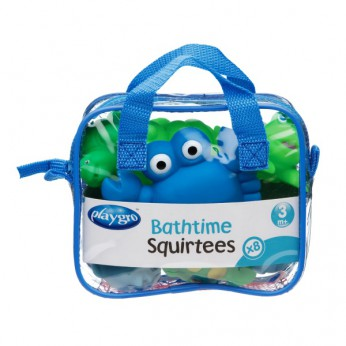 Playgro Bath Time Squirties 8pcs Blue reviews
