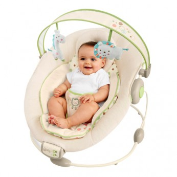 Bright Starts Comfort and Harmony Bouncer Sandstone reviews
