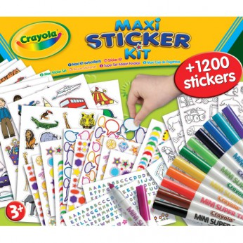 Caryola Maxi sticker Kit reviews