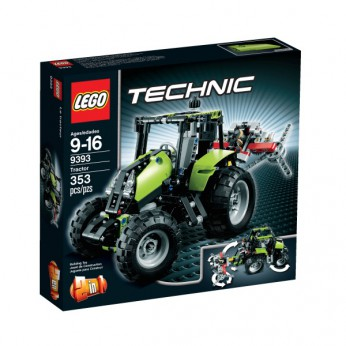LEGO Technic Tractor 9393 reviews