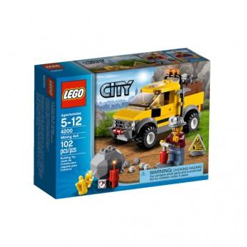 LEGO City Mining 4×4 4200 reviews