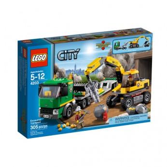 LEGO City Excavator Transport 4203 reviews