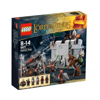 LEGO The Lord Of The Rings Uruk-hai Army 9471
