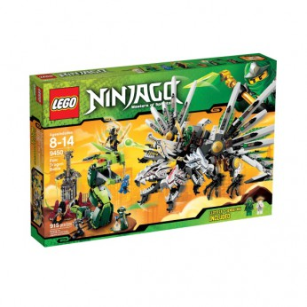 LEGO Ninjago Epic Dragon Battle 9450 reviews
