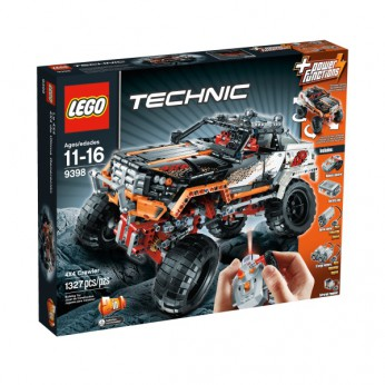 LEGO Technic 4X4 Crawler 9398 reviews