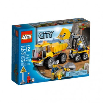 LEGO City Loader and Tipper 4201 reviews