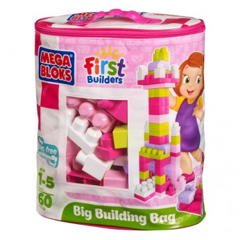 Mega Bloks First Builders Big Building Bags Pink reviews