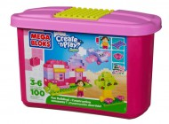 Mega Bloks Create 'n Play Endless Building Pink