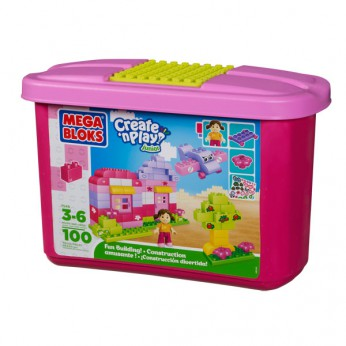Mega Bloks Create 'n Play Endless Building Pink