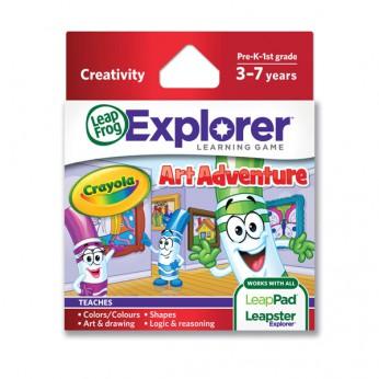 LeapFrog Explorer: Crayola Art Adventure reviews