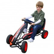 Black and Red Go Kart