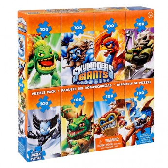 Mega Puzzles Skylanders 8 in 1 Multipack Puzzle reviews