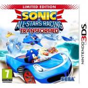 Sonic and Sega All Stars Racing Transformed 3DS