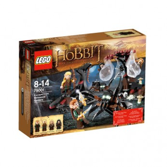 LEGO Hobbit Escape from Mirkwood Spiders 79001 reviews