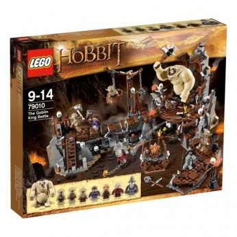 LEGO Hobbit The Goblin King Battle 79010 reviews