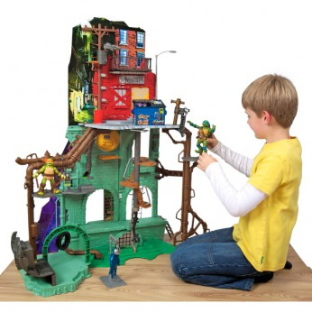 Turtles Secret Sewer Lair Playset reviews
