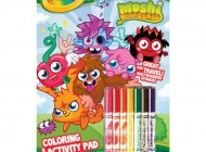Crayola Moshi Monsters 32 Page Activity Book