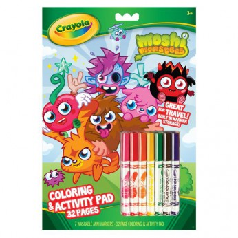 Crayola Moshi Monsters 32 Page Activity Book reviews