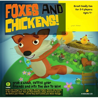 Foxes and Chickens Board Game reviews