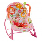 Fisher-Price Infant to Toddler Rocker Pink