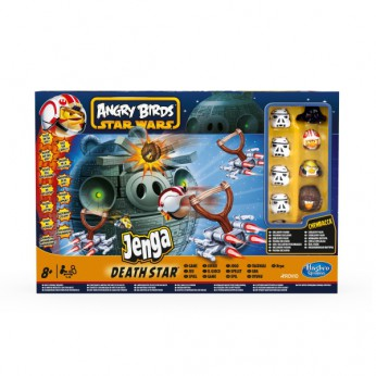 Angry Birds Star Wars Jenga Death Star Game reviews