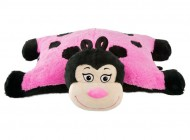 Pink Lady Bug Pillow Pal