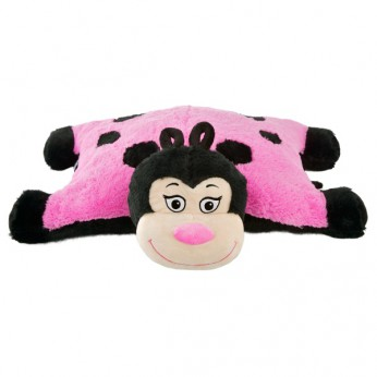 Pink Lady Bug Pillow Pal reviews