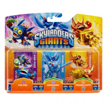 Skylander Giants: Triple Pack A reviews