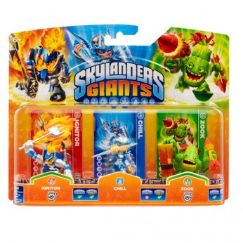 Skylander Giants: Triple Pack B reviews
