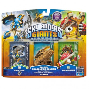 Skylanders Giants: Golden Dragonfire Battle Pack reviews