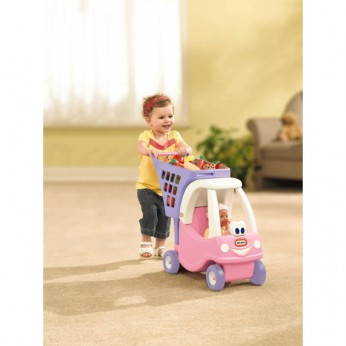Cozy Coupe Shopping Cart Pink reviews