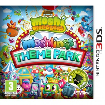 Moshi Monsters Moshlings Theme Park 3DS reviews