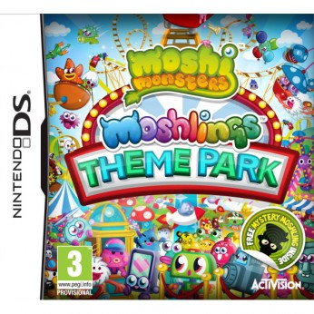 Moshi Monsters Moshlings Theme Park DS reviews