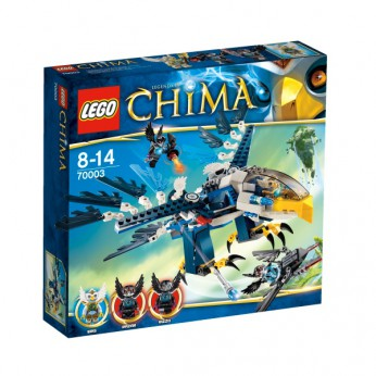 LEGO Chima Eris Eagle Interceptor 70003 reviews