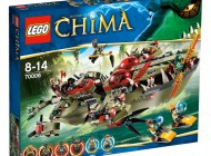 LEGO Chima Craggers Command Ship 70006