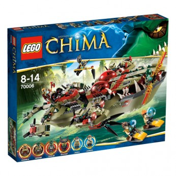 LEGO Chima Craggers Command Ship 70006 reviews