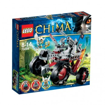 LEGO Chima Wakz Pack Tracker 70004 reviews