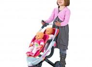 Quinny 3-Wheel Twin Pushchair