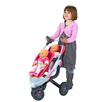 Quinny 3-Wheel Twin Pushchair reviews