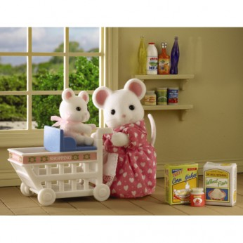 Sylvanian Families  Katie and Mazie Go Shopping reviews