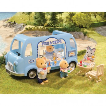 Sylvanian Families  Fish and Chips Van reviews
